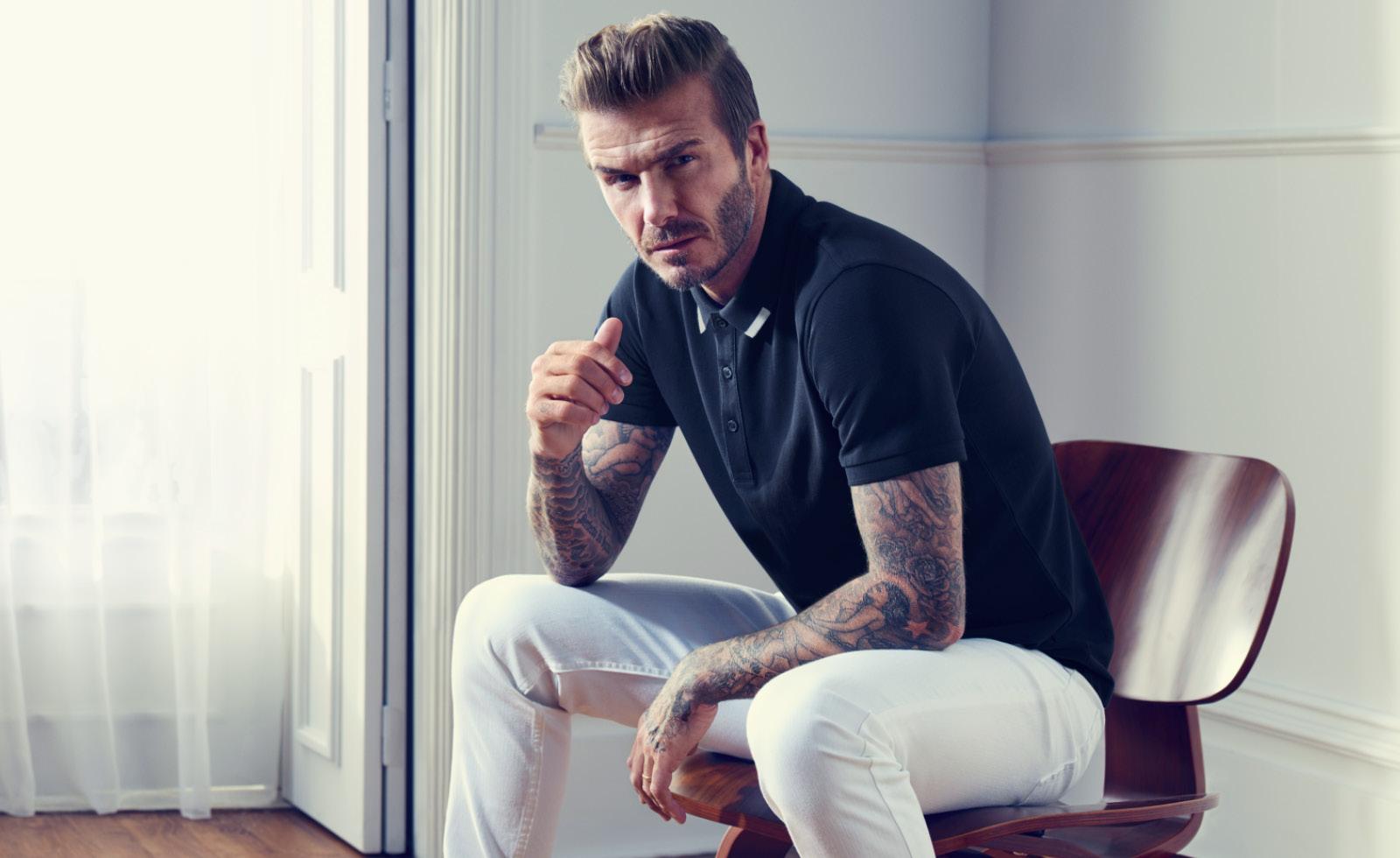 Îmbracă-te ca David Beckham!