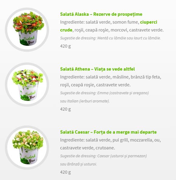Salate Proaspete Pentru O Var S N Toas Shopping City