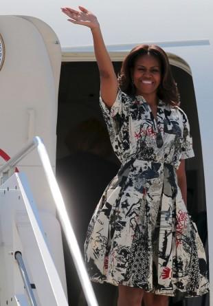 Inspirație: look casual în stilul Michelle Obama