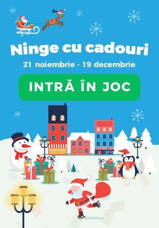 COD ROȘU: La Shopping City Galați, ninge cu cadouri!