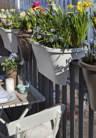 Idei pentru amenajare unei terase chiar în balcon
