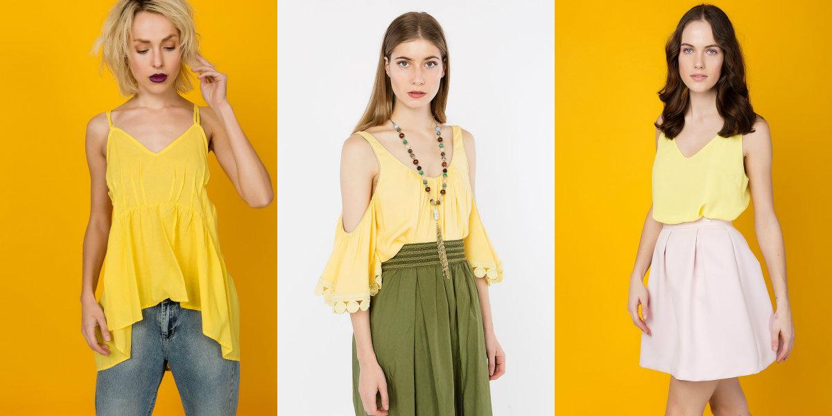 SUMMER TREND: Haine în culorile soarelui